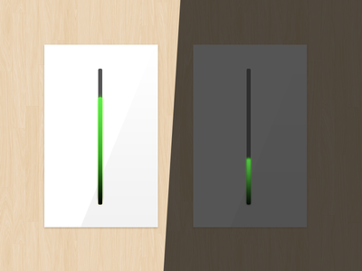 light dimmer interaction