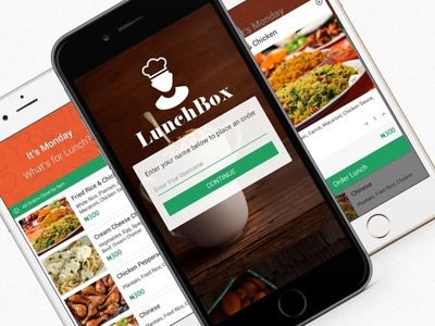 LunchBox Food Ordering Concept