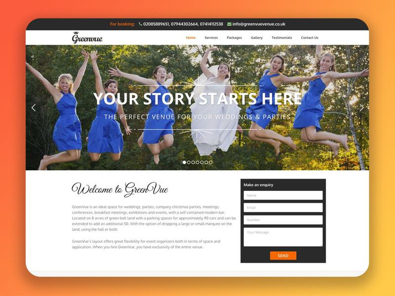 Greenvue Website Design (UK)