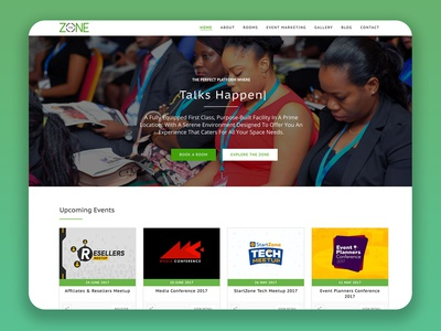 The Zone Centre Lagos Website Design