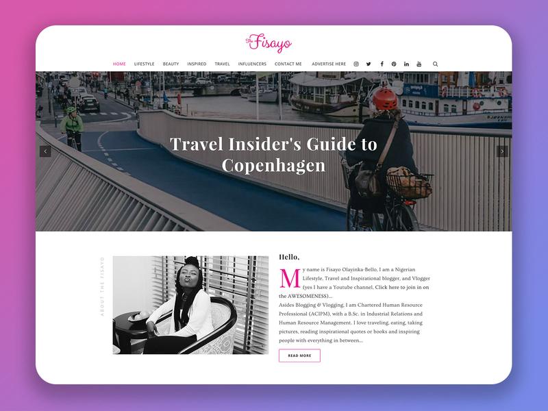TheFisayo Website Design website design ux ui web