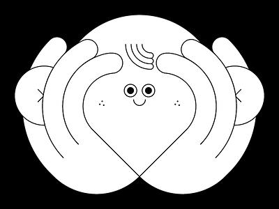 Attention illustrator illustration