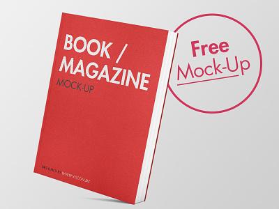 Free Book Mock-Up freebie free typo design book mock up mockup