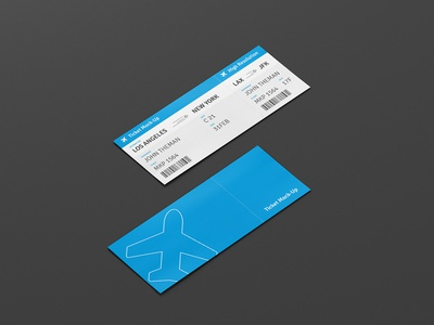 Ticket Design by Viscon Design Dribbble – Sample Ticket Design