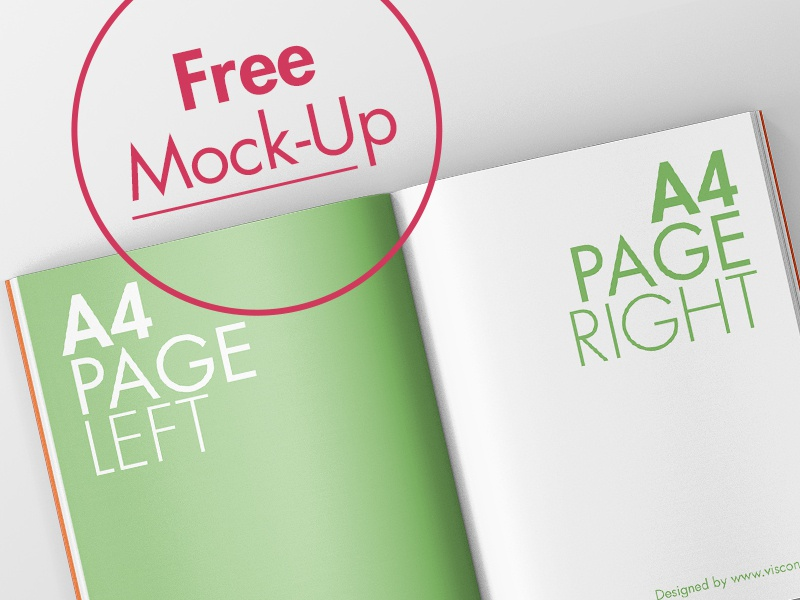 Magazine Mock-Up Freebie typo design freebie free mockup free open magazine mock up mockup