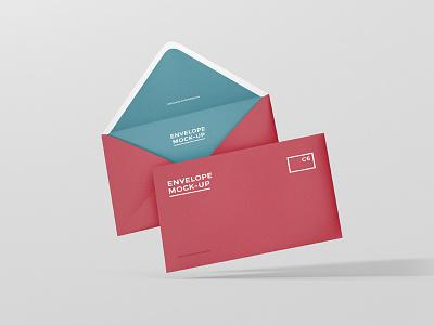 C6 Envelope Mock-Up typo typography envelope postcard mock up mockup