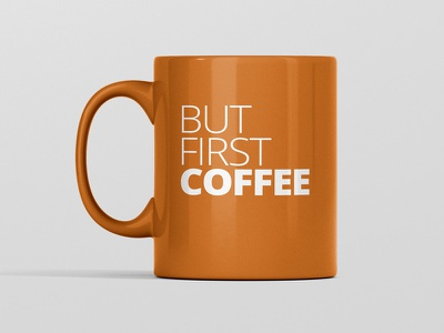 Coffee First Mug branding coffee mug mockup mockup mug