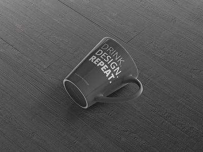 Mug Design Mockup square psd design coffee drink mug mockup mug mock up mockup