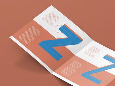 Z Fold Brochure Mockup Square Preview editorial design mockup brochure z fold