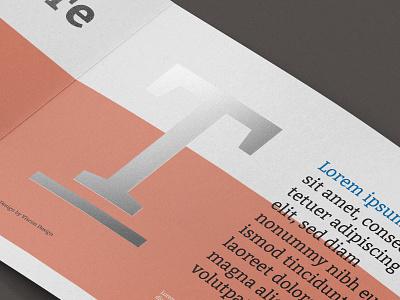 Design Close Up Brochure Mockup menu magazine tri-fold trifold layout logo print brochure mockup