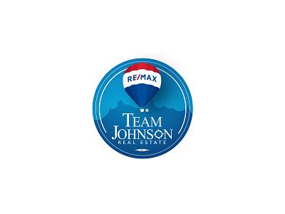 Team Johnson Real estate graphic symbol logo corporate identity branding logo designing real estate branding realestatelogo realestate