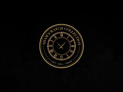 Adams Wathc Collection watchlogo symbol logo graphic symbol corporate identity branding logo designing
