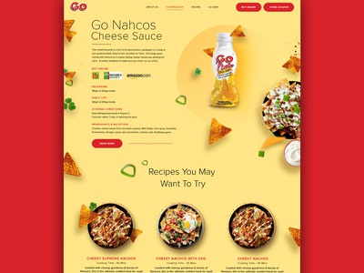 Go Cheese Product Page