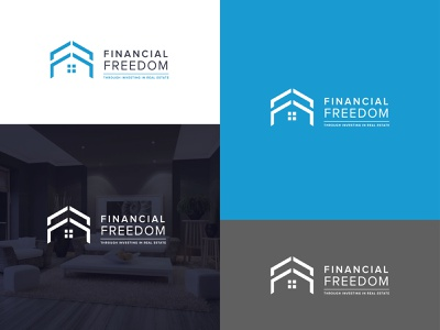 Financial Freedom symbol graphic symbol corporate identity logo logo designing branding