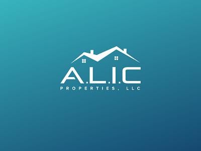 A.L.I.C Properties LLC realestatelogo logo graphic symbol symbol corporate identity logo designing