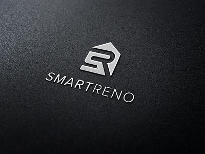 Smartreno graphic symbol logo designing symboliclogo branding and identity branding house logo logo realestatelogo