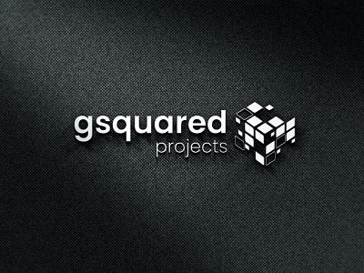 Gsquared Projects logo corporate identity branding logo designing
