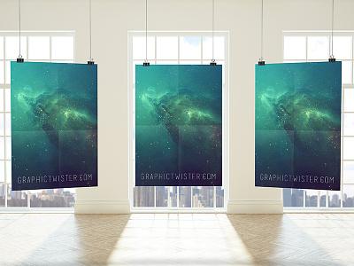 Premium Posters Mockup mockup