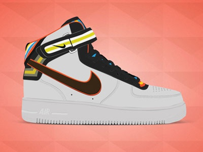 Nike + R.T. Air Force 1 Mid