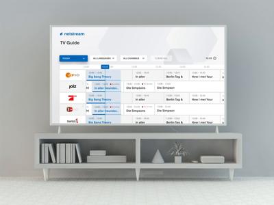 Netstream TV App