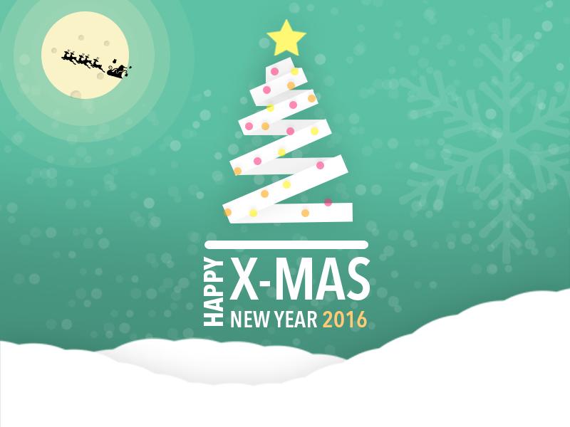 Merry Christmas n Happy New Year 2016 by Krisna Adi Wiyana ...