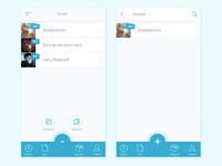 Cloud app mobile concept