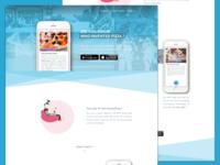 Lazy App Landing Page