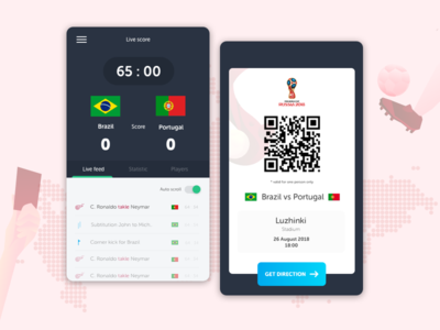 Exploration Personal Guide App For Fifa Worldcup 2018