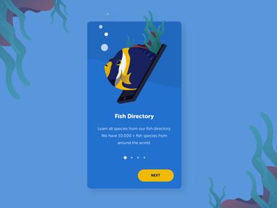 Fish Directory Onboarding App