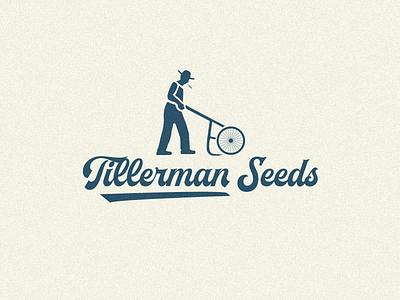 Tillerman Seeds logo farming seed logo