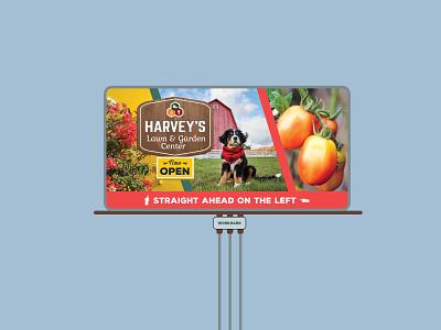 Garden center billboard garden dog billboard spring