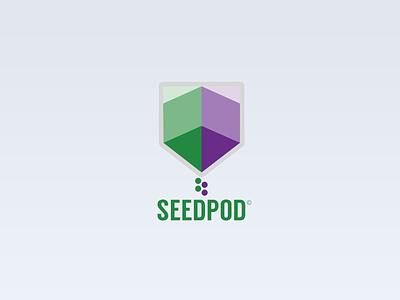 Seedpod logo branding logo seed