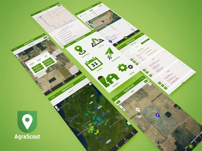 AgraScout interface ui