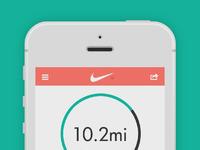Nike run app