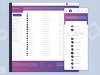CRM Contacts Dashboard
