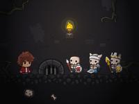 Platformer Assets - Dungeon Scene