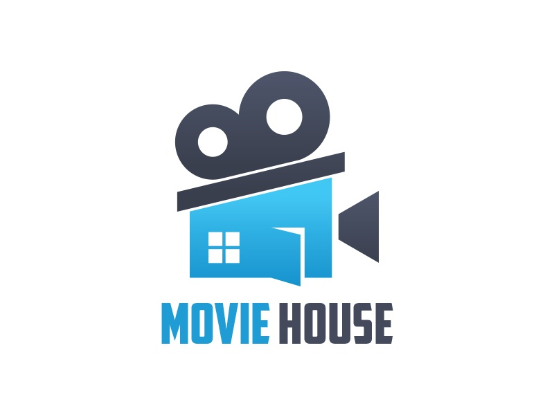 Movie House Logo By Martin James Dribbble