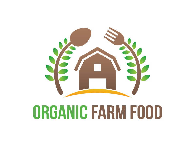 organic farm logo by martin james dribbble