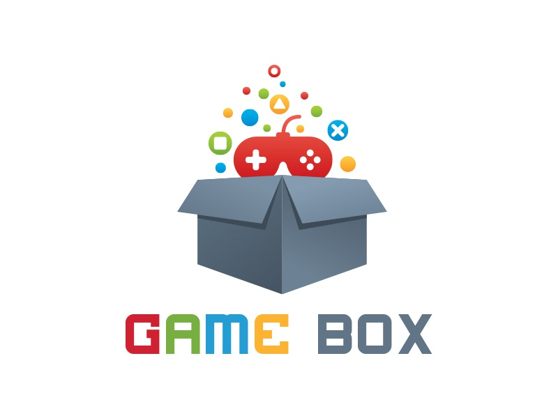 Game Box Logo By Martin James Dribbble Dribbble