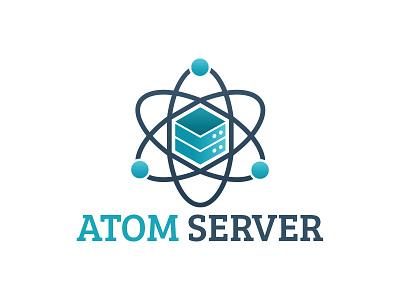 Atom Server network technology internet digital data cube hosting server atom