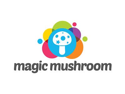 Magic Mushroom dream trip colorful studio illusion creative mushroom magic