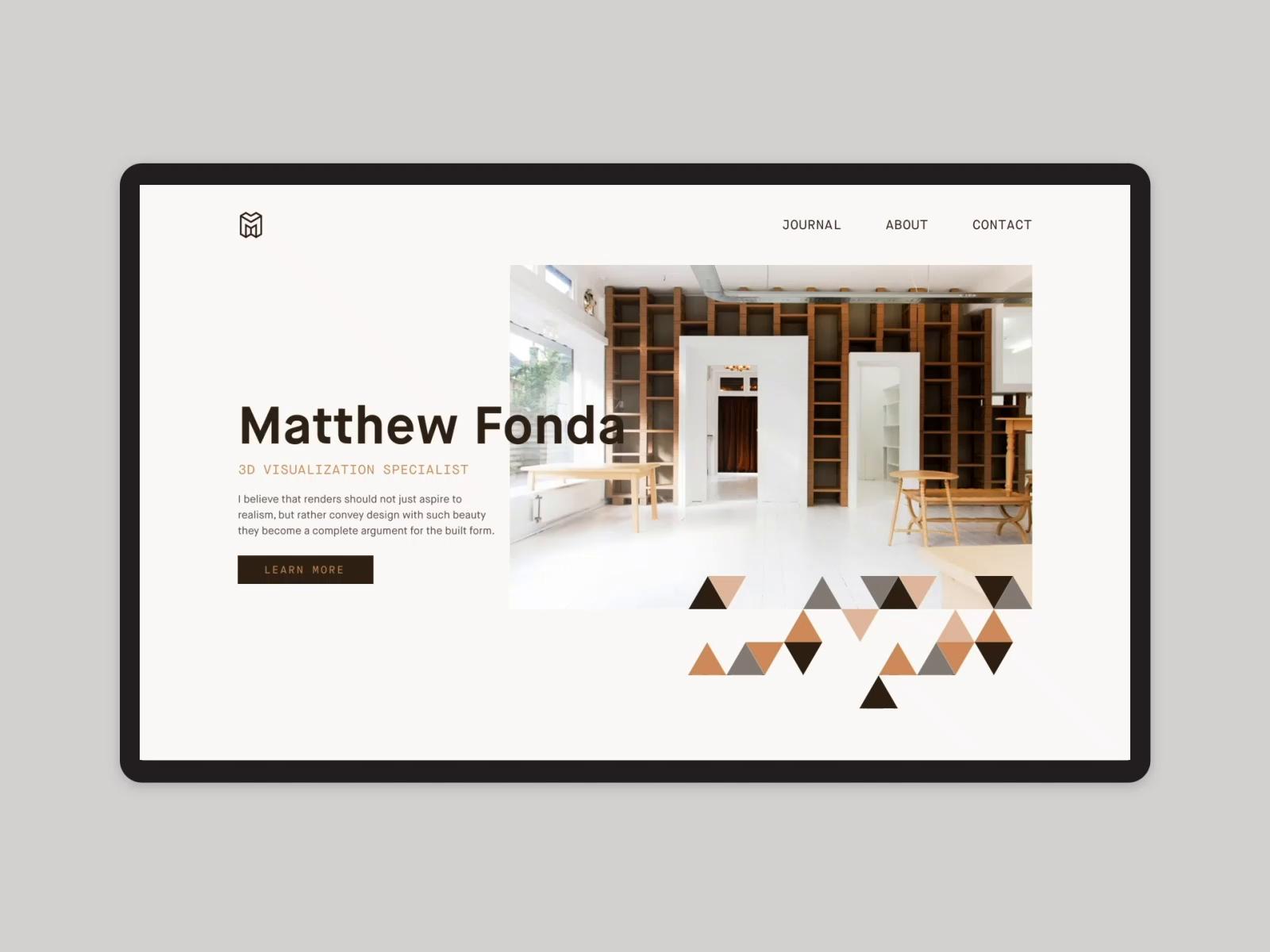 Matthew Fonda Home Page
