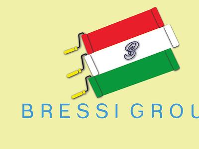 Bressi Group  Logo Design banner design branding unique logo design typography social media design design logo design creative logo design business logo design illustration