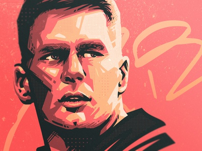Tom Brady 🏈 art football tom brady nfl sport illustration dlanid identity sports branding
