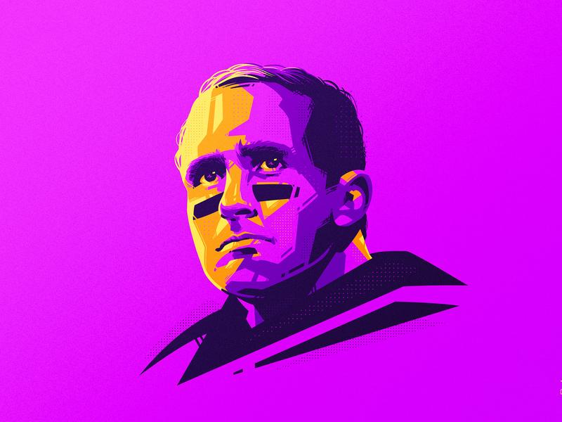 Drew Brees 🏈 dlanid vector illustration identity sports saints nfl football american football drew brees