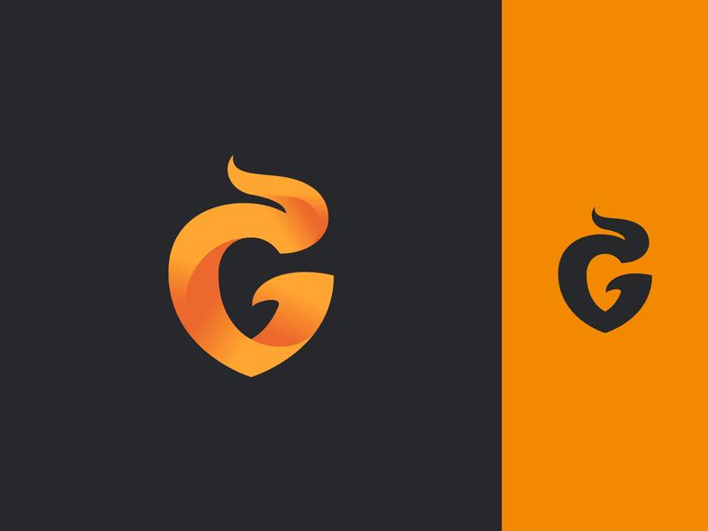 G logo gaming dlanid identity sports esports logotype gradient graphic design icon branding logo g