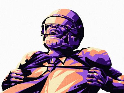 GP illustration vector sport illustration identity branding sports helmet shirt office player american football football