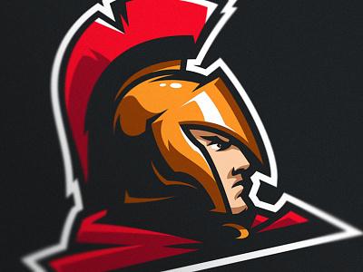 Spartlogo warrior sport branding design gaming mascot logo esports sports trojan spartan