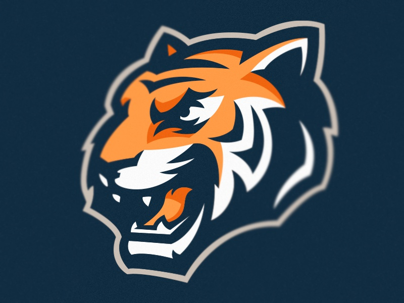 Tiger logo sports mascot logotype logo tiger lion identity gaming esports cat branding