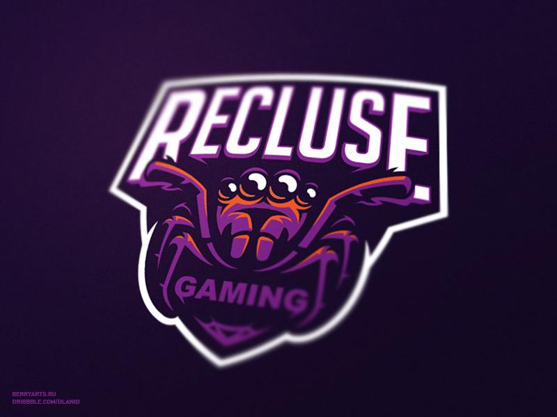 gaming recluse sports team logos esports sport dribbble spider inspiration branding mascot animal visitar bears